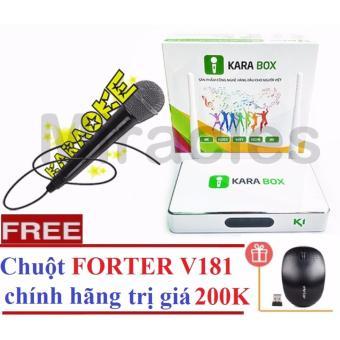 Hộp Android Tivi Box KARA BOX K1 + Tặng Chuôt FORTER V181 trị giá 200K