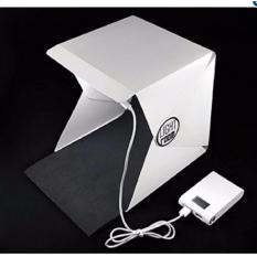 Hộp chụp ảnh sản phẩm có đèn 22.6x23x24(cm) tích hợp 35 bóng đèn Led siêu sáng