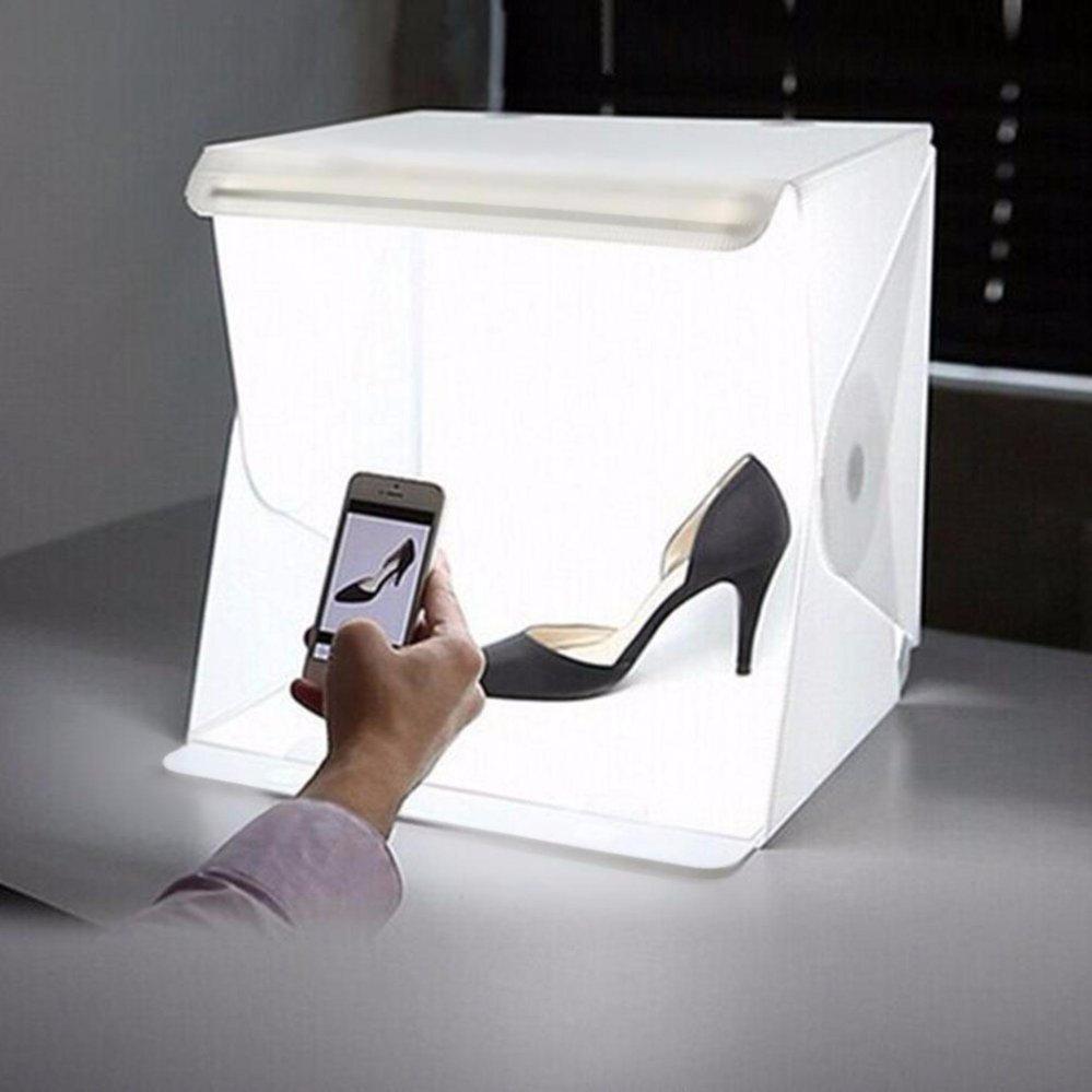 Hộp studio chụp sản phẩm 40cm tích hợp đèn Led