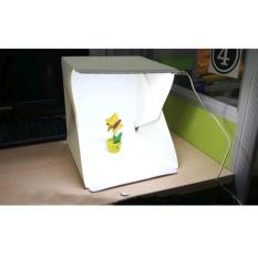 Hộp chụp ảnh sản phẩm Light room, đèn Led siêu sáng (Trắng)