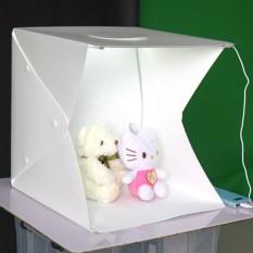 Hộp chụp sản phẩm 40x40x40cm tích hợp đèn LED – 2TCAMERA-Q00172 (Trắng)