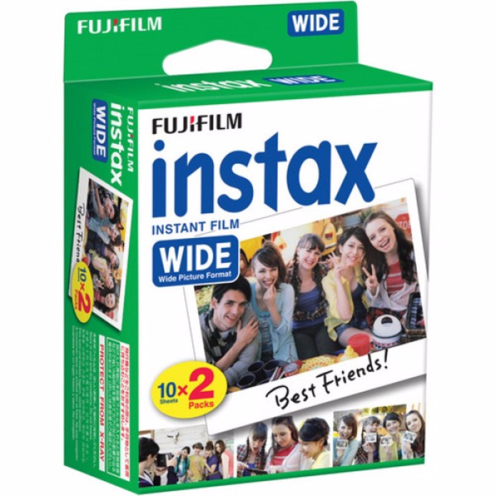 Hộp Film in ảnh Fujifilm instax Wide (20 tấm)