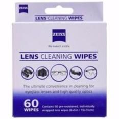 Hộp giấy lau ống kính 60 gói Lens Wipes Zeiss (Trắng)