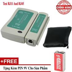 Hộp test dây cáp mạng dây điện thoại đa năng RJ45 và RJ11 – TPTL01