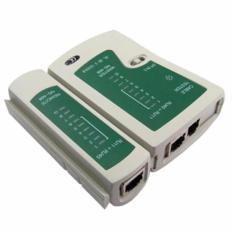 Hộp test mạng đa năng RJ11/45 (Trắng phối xanh) (ko kèm pin)