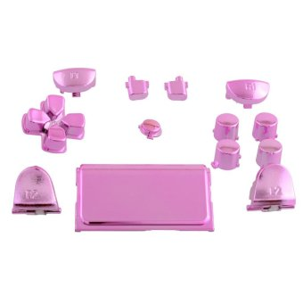 Hot Buttons Mod Chrome Pink For Sony Playstation 4 PS4 GamepadJoystick - intl