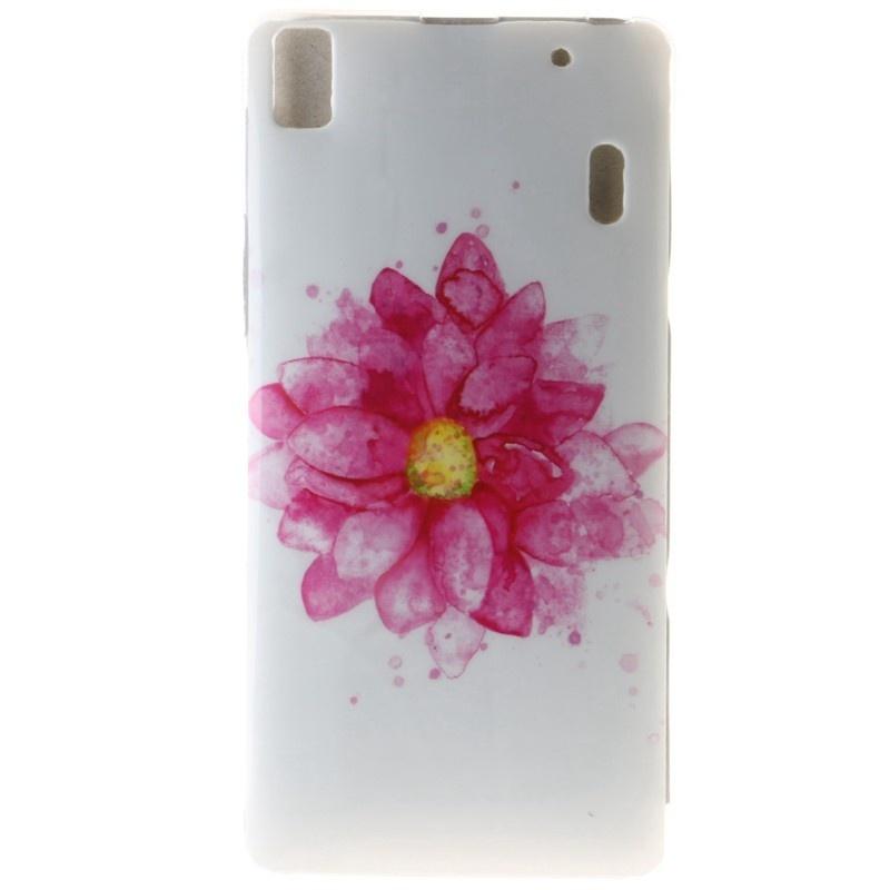 ... Hot Design Red flower TPU Soft Gasbag Back Case Cover For Lenovo K3