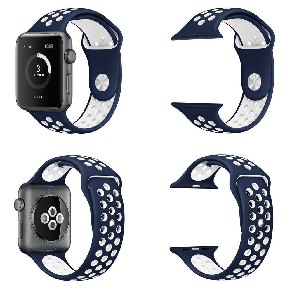 ... Hot Sales Apple Watch Strap Silicon Sports Watch Band Strap 42mm 1:1 Size ...