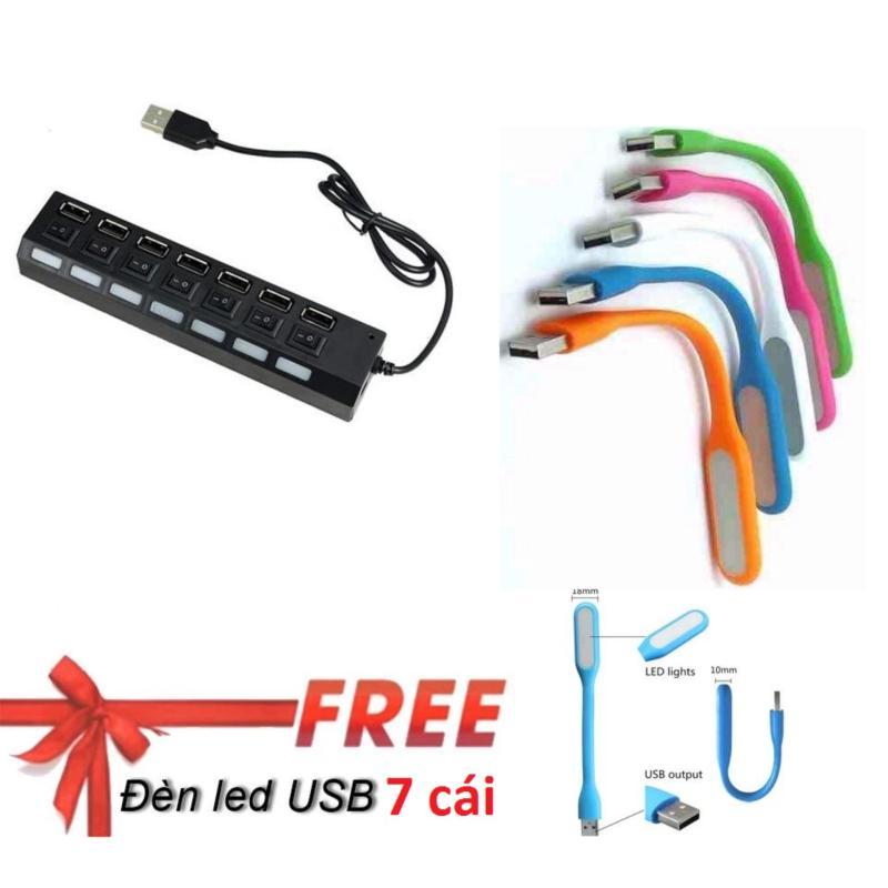 Bảng giá HUB chia USB 7 cổng có công tắc Phong Vũ