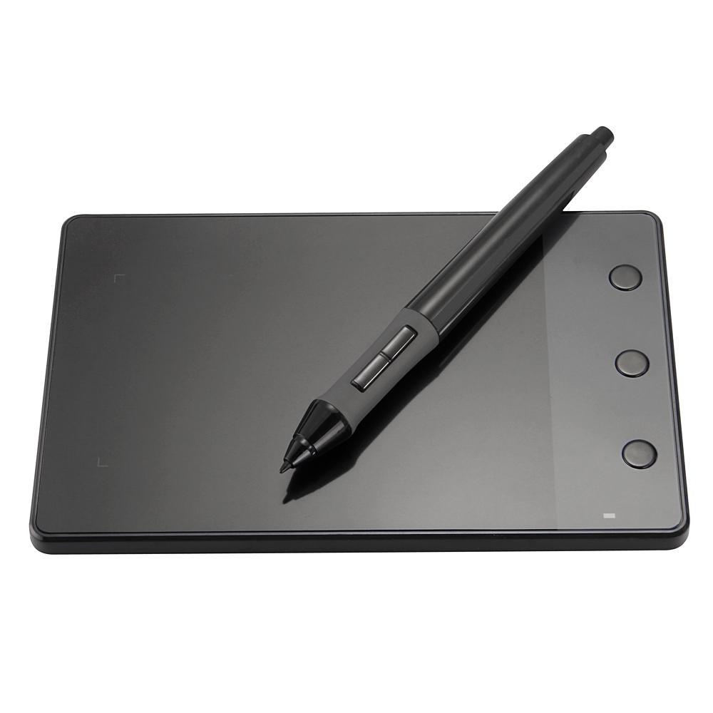 So sánh giá Máy tính bảng Huion H420 cỡ 4×2.3inches dùng để vẽ, có kết nối USB và bút cảm ứng kèm theo Tại Grandmise Store