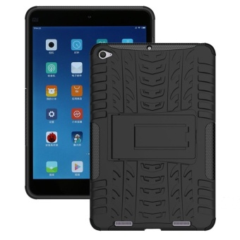 Hybrid TPU + PC Protective Case for Xiaomi Mipad 2 (Black) - intl