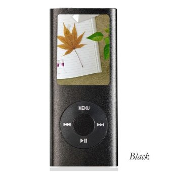 iPod Mp3 Player Mp4 Player+Free 8GB Miro Card+Free Earphone(Black)- intl