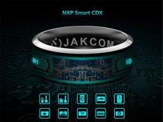 JAKCOM R3 Công Nghệ NFC Ma Thuật Thông Minh Nhẫn Đen cho Android IOS Windows Điện Thoại 11 # Kích Thước-quốc tế