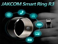 JAKCOM R3 Công Nghệ NFC Ma Thuật Thông Minh Nhẫn Đen cho Android IOS Windows Điện Thoại 12 # Kích Thước-quốc tế