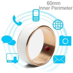 Trang bán JAKCOM R3F 18K Rose Gold Smart Ring, Waterproof and Dustproof, Health Tracker, Wireless Sharing, Phone Call, Push Message, Inner Perimeter: 60mm(White) – intl