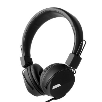 Kanen IP-852 Adjustable Headset for Smartphone (Black) - intl