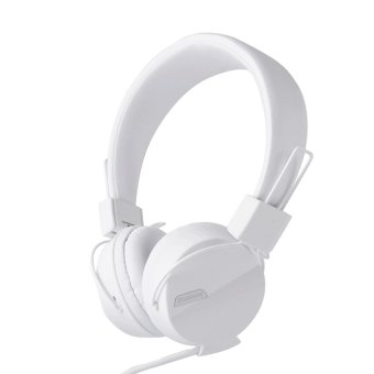 Kanen IP-852 Adjustable Headset for Smartphone (White) - intl