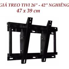 Kệ tivi treo tường nghiêng từ 26′ đến 42′ tiện dụng-OLS