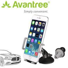Kẹp điện thoại đa năng trên ô tô 3 trong 1-AVANTREE FCHD-089 (A2304 – Màu xám)