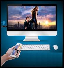 Ket noi dien thoai voi tivi qua wifi – HDMI không dây giá siêu rẻ, BH uy tín