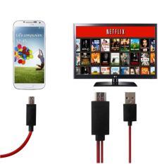 Kết nối tivi với điện thoại (Android cổng MHL 2m)