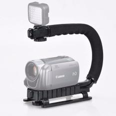 Khung đỡ tay cầm chống rung quay phim điện thoại máy ảnh máy quay chuyên nghiệp chữ C