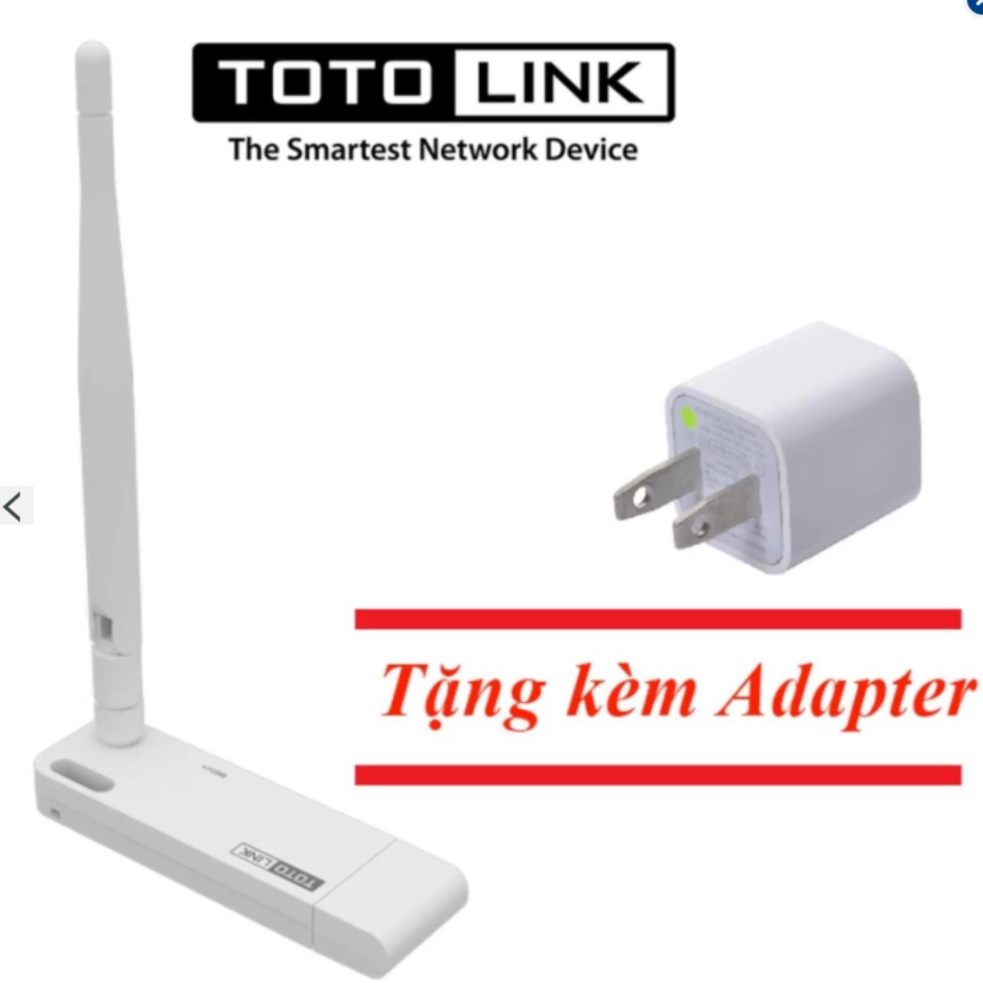 Kích sóng WiFi Repeater TOTOLINK EX100 + Cốc sạc
