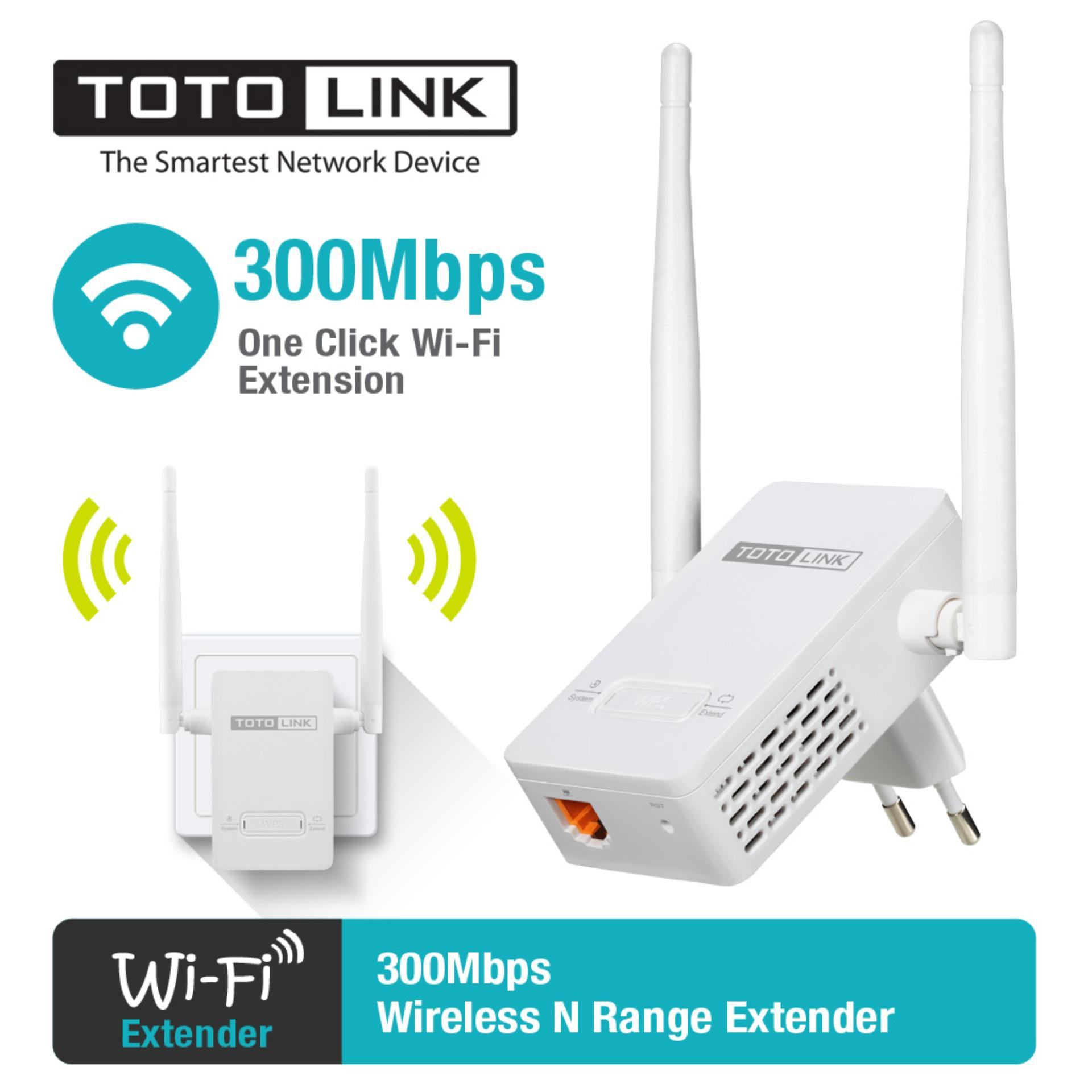 Kích sóng WiFi Repeater TOTOLINK EX200 (Trắng)
