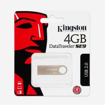 Kingston DataTraveler SE9 G2 4GB (Bạc)