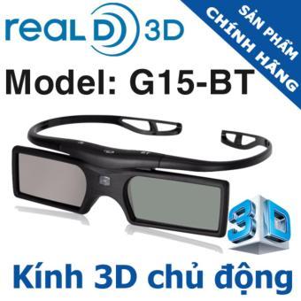 Kính 3D chủ động G15-BT Real3D - Model 2017