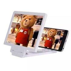Chỗ nào bán Kính 3D phóng đại hình ảnh cho điện thoại Enlarged Screen Cho Deal 24h (Trắng)