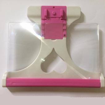 Kính 3D phóng to màn hình điện thoại Smartphone F1 không viền hồng
