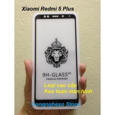 Kính cường lực 5D Full màn cho Xiaomi redmi 5 Plus