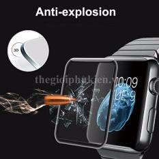 Kính cường lực Apple Watch 42mm (Đen) – Full màn hình 3D
