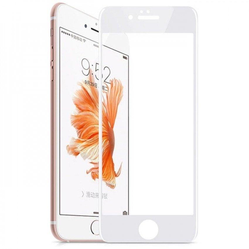 Nên mua Kính cường lực Full màn hình cho iPhone 6 ,6S (trắng) ở PK Hoàng Gia