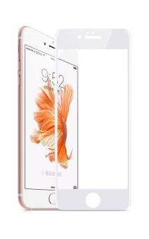 Kính cường lực Full màn hình cho iPhone 6S Plus (Trắng)