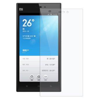 Kính cường lực Glass cho Xiaomi Mi3 (Trong suốt)