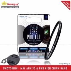 Bảng Báo Giá Kính lọc bảo vệ Marumi Fit+Slim lens protect 40.5mm + Tặng kèm nắp ống kính size tùy chọn  PhotoKing