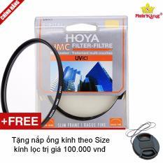 Kính lọc Hoya 52mm HMC UV(C) + Tặng kèm 1 nắp ống kính