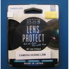 Kính lọc marumi fit and slim lens protect 77mm