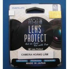 Kính lọc Marumi fit & slim lens protect 62mm