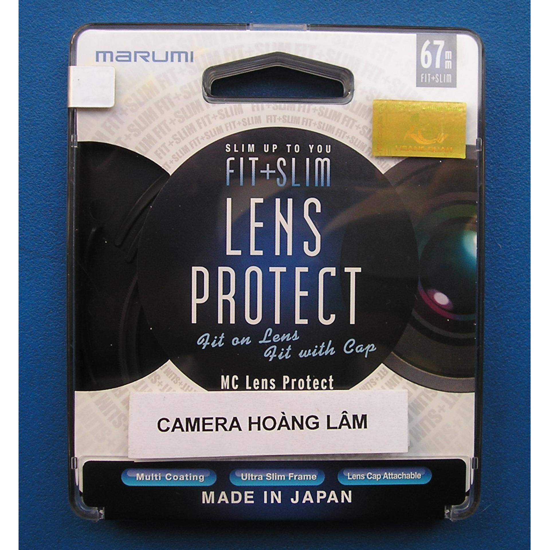 Kính lọc marumi fit & slim lens protect 67mm