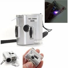 Kính phóng to 60 lần Cầm tay có đèn LED Chodeal24h