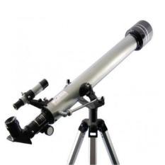 Kính thiên văn khúc xạ chân cao F70060 Refractor.( Bạc)