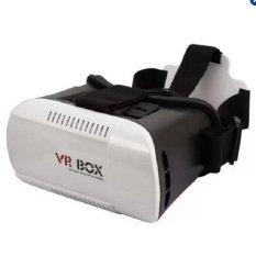 Kính thực tế ảo 3D VR Box (Đen phối trắng)