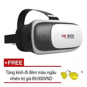 Kính thực tế ảo 3D VR BOX phiên bản 2016 Ver 2.0 Tặng Kính đi đêm