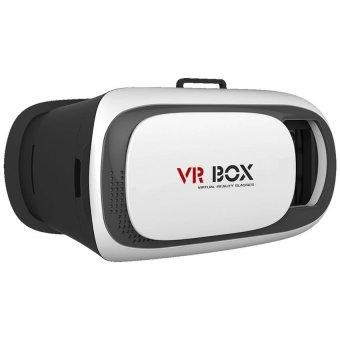Kính thực tế ảo VR Box phiên bản 2 (Trắng) + Tặng 1 tay cầm chơi game bluetooth - 3