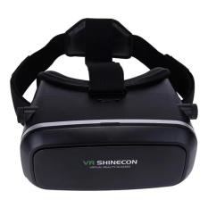 Kính thực tế ảo VR shinecon(đen) hàng nhập khẩu thiết kế sang trọng hiện đại hỗ trợ xem phim 3D trên điện thoại chất lượng hiển thị hình ảnh hoàn hảo