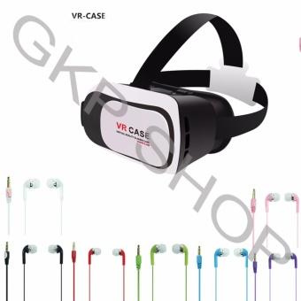 Kính xem phim 3D cho smartphone + Tai nghe nhét tai