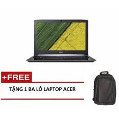 Laptop Acer Aspire A315-51-37LW NX.GNPSV.024 i3-7130U/4G/500GB/15.6HD (Đen) + Tặng 1balo laptop ACER – Hãng phân phối chính thức